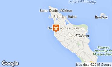Karte Saint Georges d'Oléron Haus 39090
