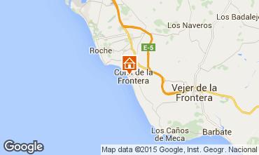 Karte Conil de la Frontera Appartement 94764