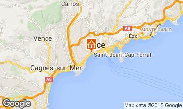 Karte Nice Appartement 93557