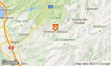 Karte Les Diablerets Appartement 73953
