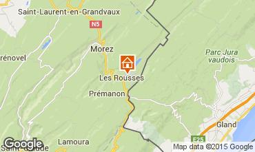 Karte Les Rousses Appartement 15199