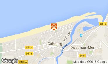 Karte Cabourg Studio 10765