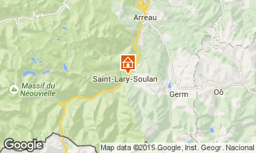 Karte Saint Lary Soulan Appartement 16744