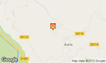 Karte Auris en Oisans Studio 61291