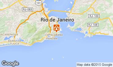Karte Rio de Janeiro Appartement 94405