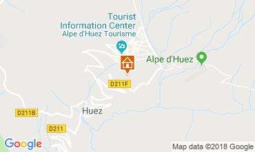 Karte Alpe d'Huez Appartement 101610
