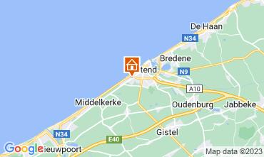 Karte Ostende Fremdenzimmer 72510