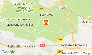 Karte Eygalières Haus 114873