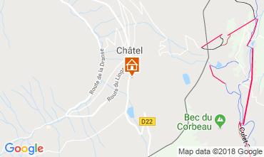 Karte Châtel Chalet 73726