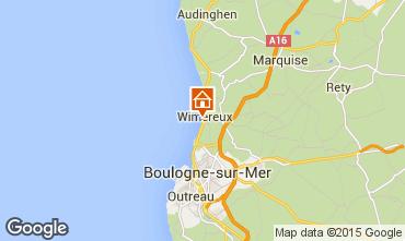 Karte Wimereux Studio 93546