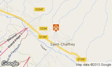 Karte Serre Chevalier Ferienunterkunft auf dem Land 75303