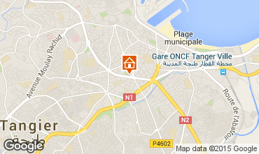 Karte Tanger Appartement 99183