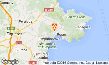 Karte Rosas Haus 86626
