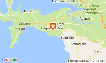 Karte Telgruc-sur-Mer Haus 108074