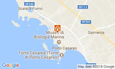 Karte Porto Cesareo Appartement 73977