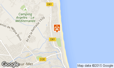 Karte Argeles sur Mer Studio 92790
