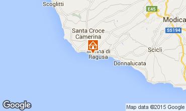 Karte Marina di Ragusa Appartement 99487
