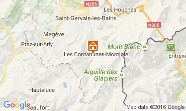 Karte Les Contamines Montjoie Chalet 107147
