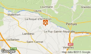 Karte Aix en Provence Villa 11926