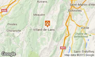 Karte Villard de Lans - Corrençon en Vercors Chalet 3641