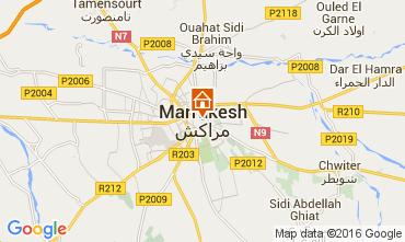 Karte Marrakesch Haus 105280