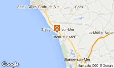 Karte Bretignolles sur mer Haus 94166