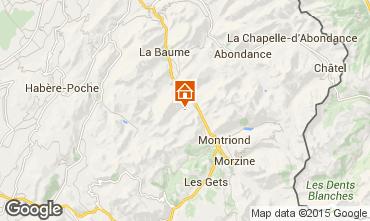 Karte Saint Jean d'Aulps- La Grande Terche Appartement 38397