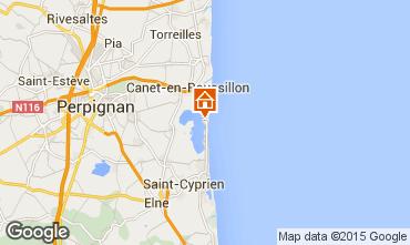 Karte Canet-en-Roussillon Mobil-Home 90666