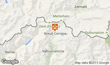 Karte Cervinia (Breuil) Studio 71065