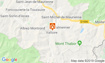 Karte Valloire Chalet 116466