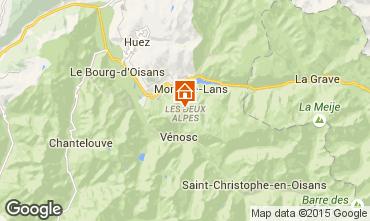 Karte Les 2 Alpes Studio 73843