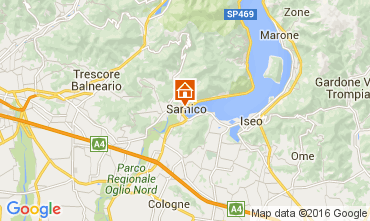 Karte Sarnico Appartement 103932
