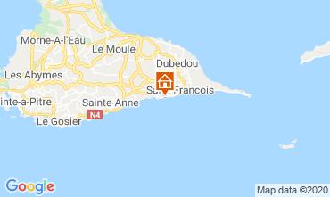 Karte Saint Francois Studio 68998