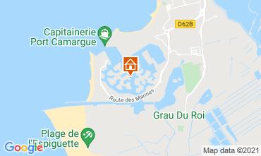 Karte Le Grau du Roi Appartement 51168