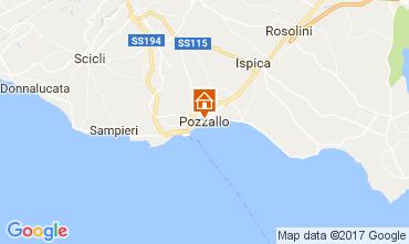 Karte Pozzallo Haus 104899
