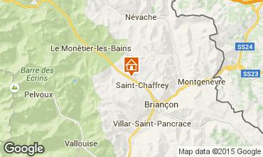 Karte Serre Chevalier Chalet 30547
