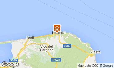 Karte Peschici Appartement 77696