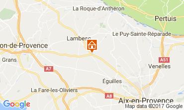 Karte Aix en Provence Villa 108314