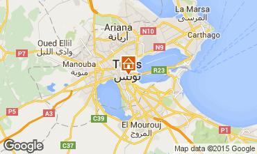 Karte Tunis Appartement 57216