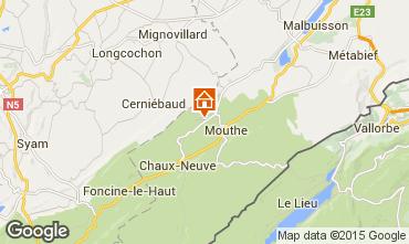 Karte Mouthe Haus 3717