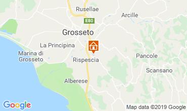 Karte Grosseto Villa 40862
