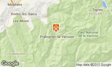 Karte Pralognan la Vanoise Chalet 44318