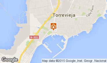 Karte Torrevieja Appartement 46400
