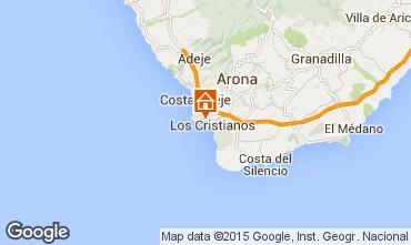Karte Los Cristianos Appartement 70136