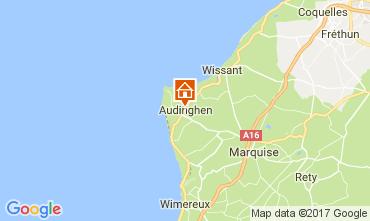 Karte Audinghen Villa 109514
