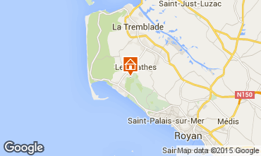 Karte La Palmyre Mobil-Home 63465