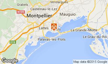 Karte Montpellier Mobil-Home 66067