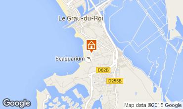 Karte Le Grau du Roi Appartement 92304