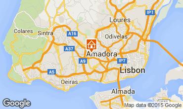 Karte Lissabon Appartement 98329