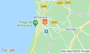 Karte Wimereux Appartement 108853
